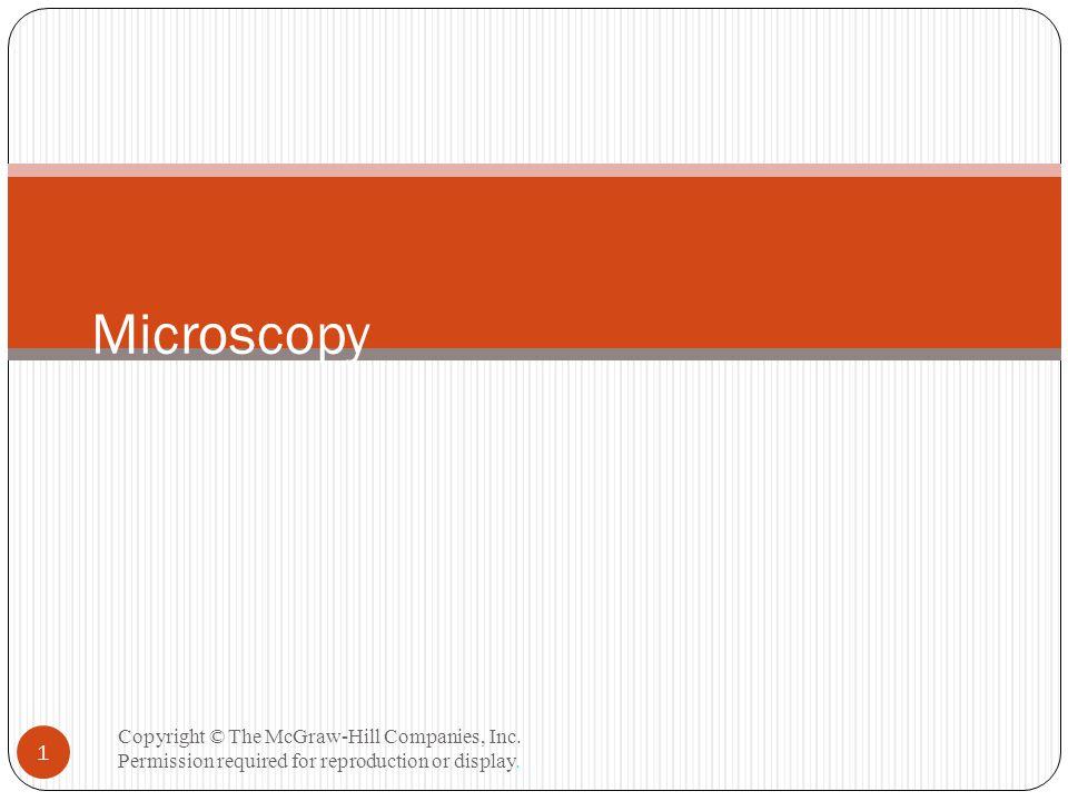 Confocal Microscopy Copyright © The McGraw-Hill Companies, Inc.