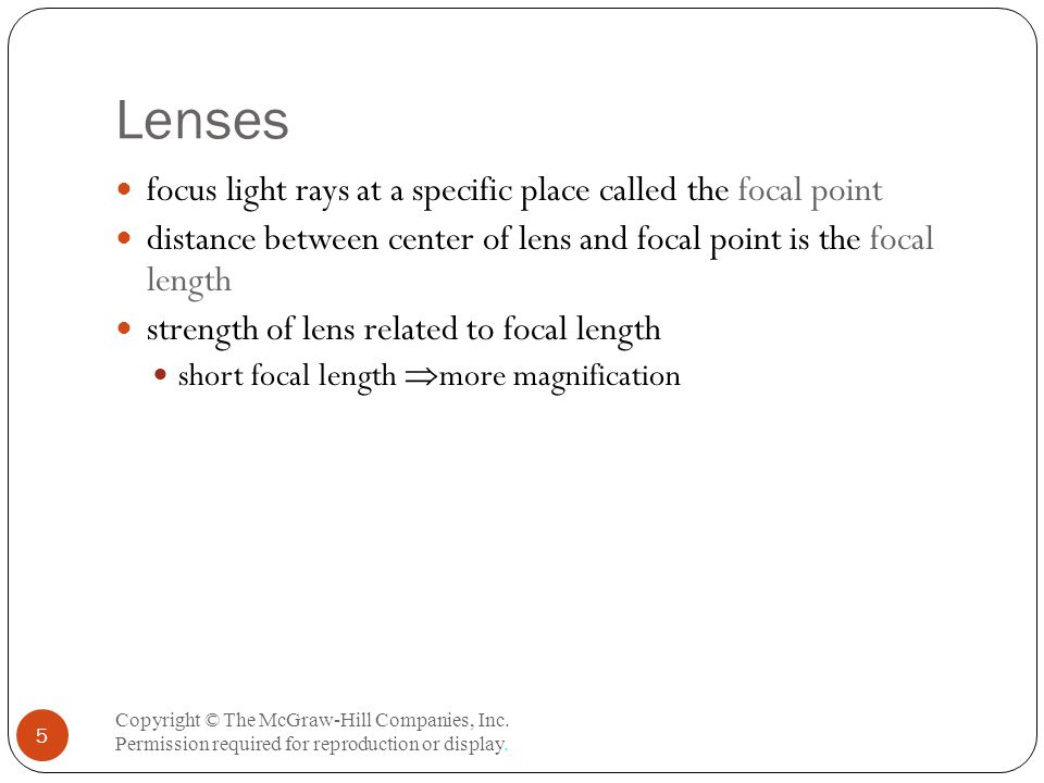 The Differential Interference Contrast Microscope Copyright © The McGraw-Hill Companies, Inc.