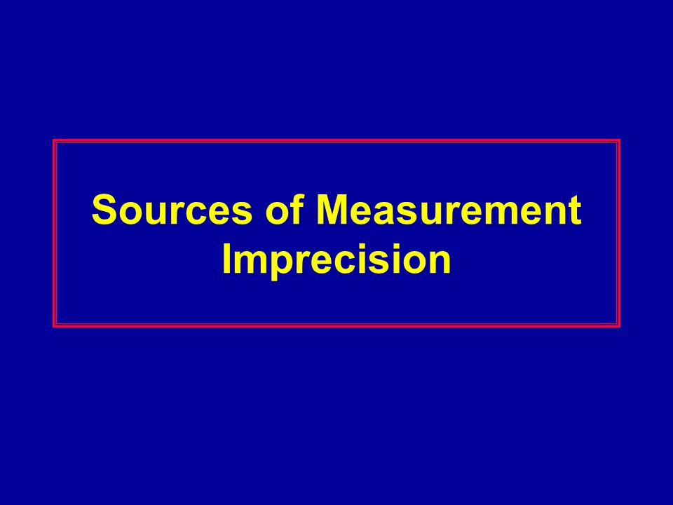 Possible Areas for Measurement Errors Definition of what is to be measured WIDTH or Dimater or Critical Dimension Environmental Influences –Vibration, Stray Fields Instrument Maintenance Specimen Charging Electron Detector Position and Type Accelerating Voltage Affects Sample Contamination Sample Dimensional Changes Errors due to specimen tilt Resolution of the measurement system