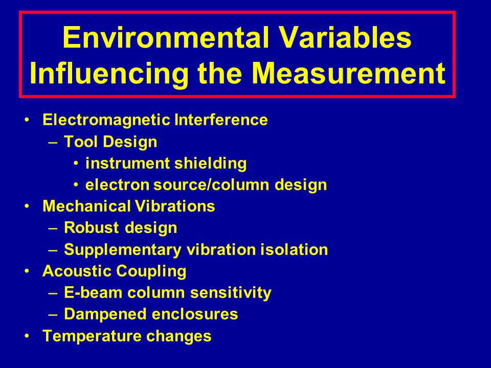 Types of Measurement Pitch measurement –No need to know the position of the true edge.