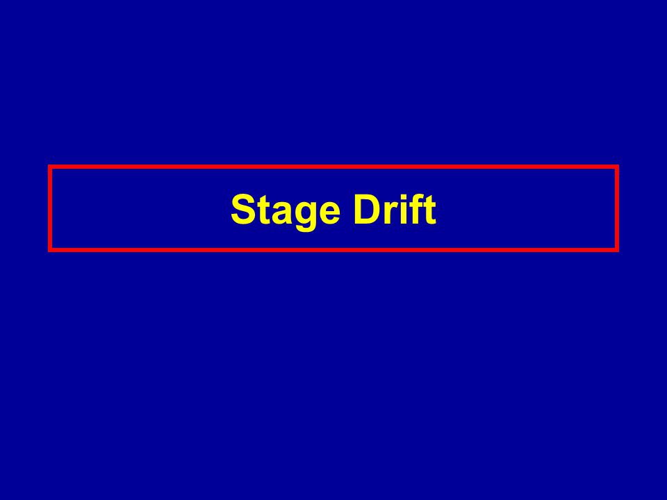 Stage Drift