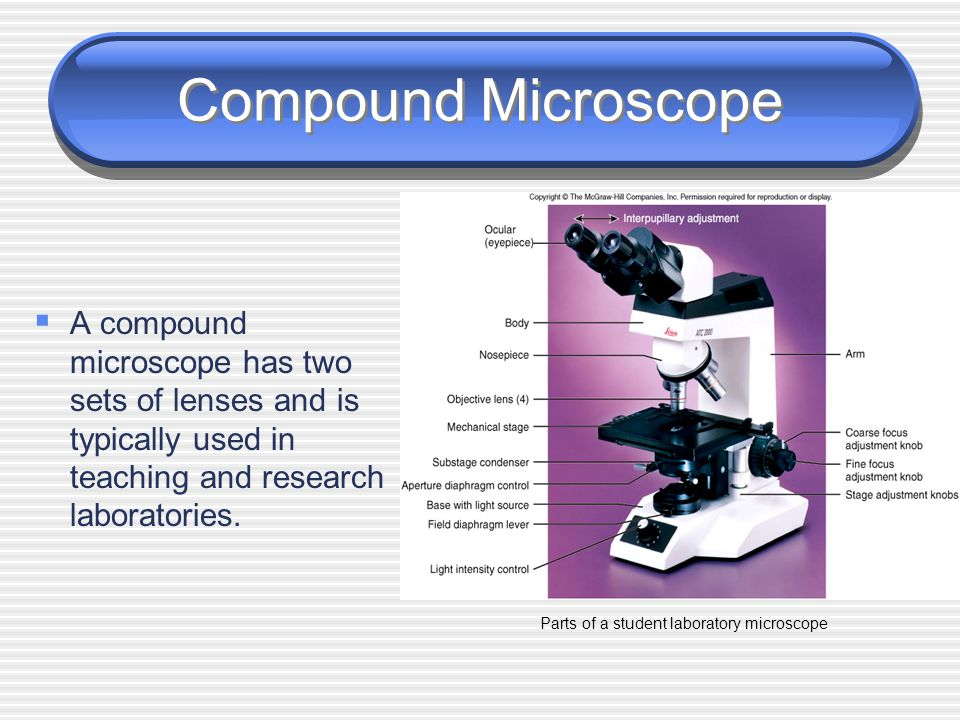 Simple Microscope  A simple microscope has only one lens