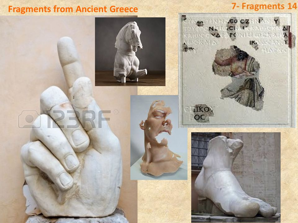 Fragments from Ancient Eygpt