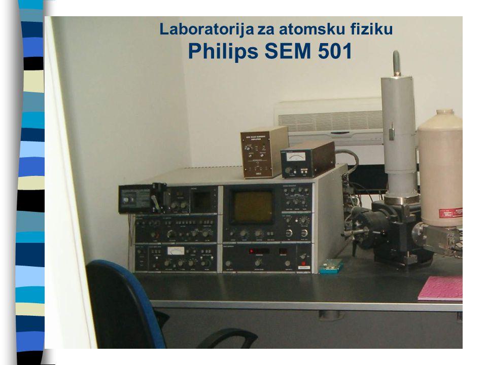 Philips SEM 501 Laboratorija za atomsku fiziku