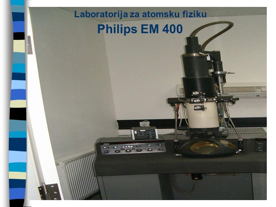 Philips EM 400 Laboratorija za atomsku fiziku