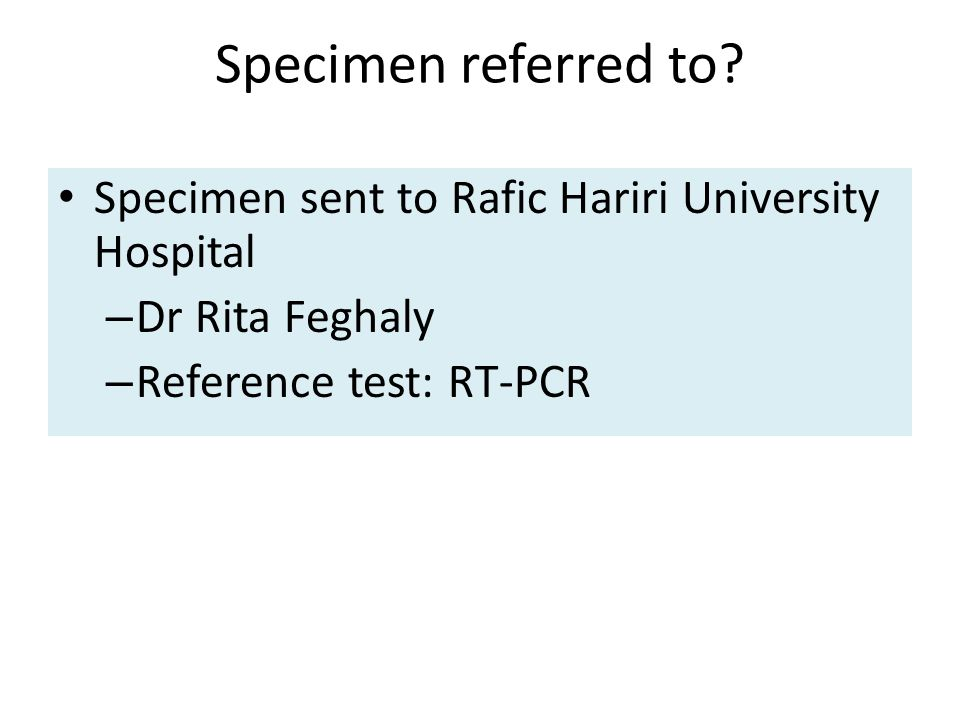 Specimen referred to.