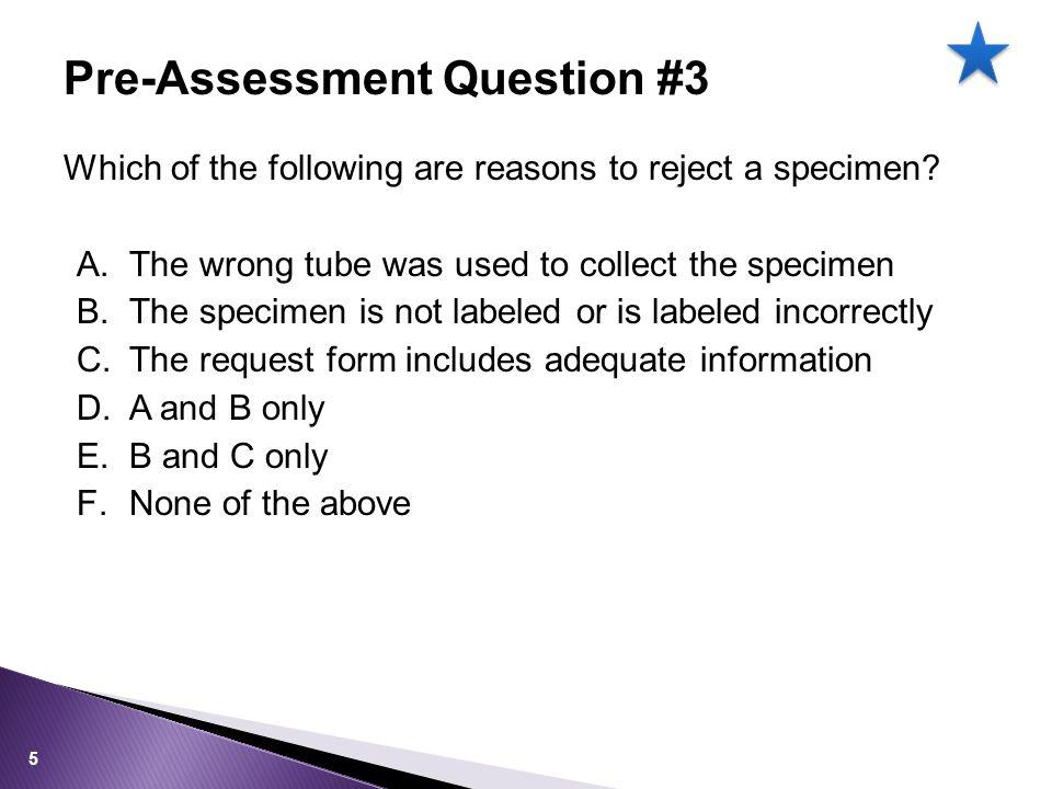 Standard Precautions All specimens should be treated as potentially hazardous! 26