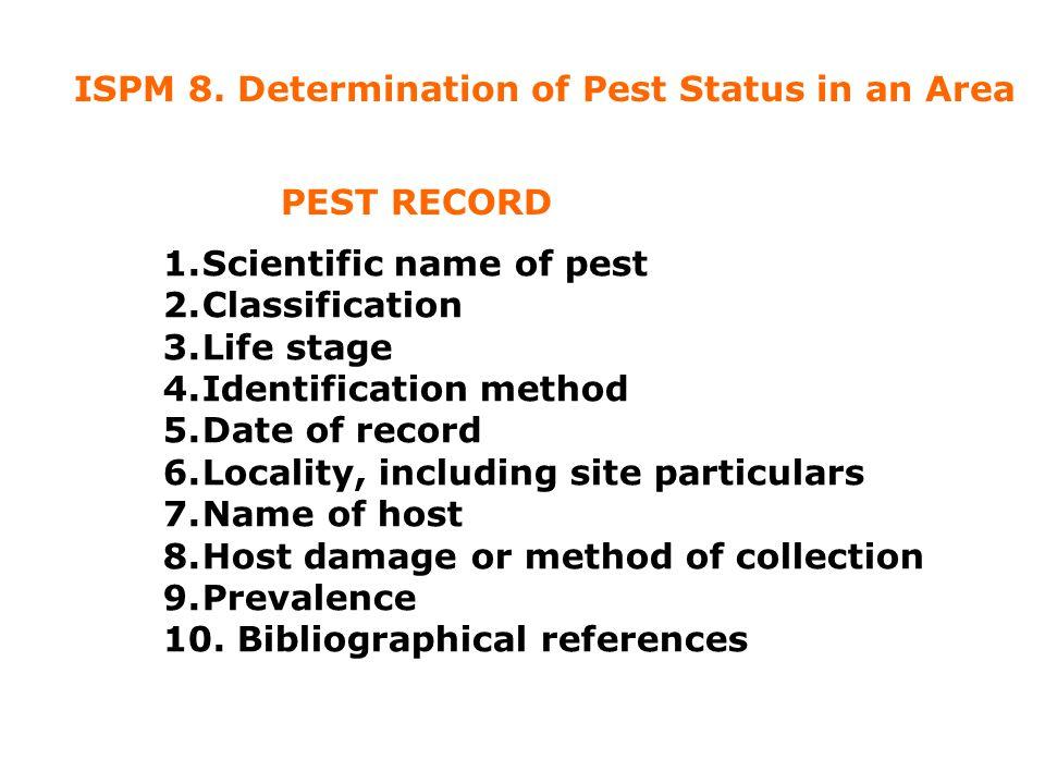 Pest Information Sources Secondary Literature ( encyclopaedias ) 3.