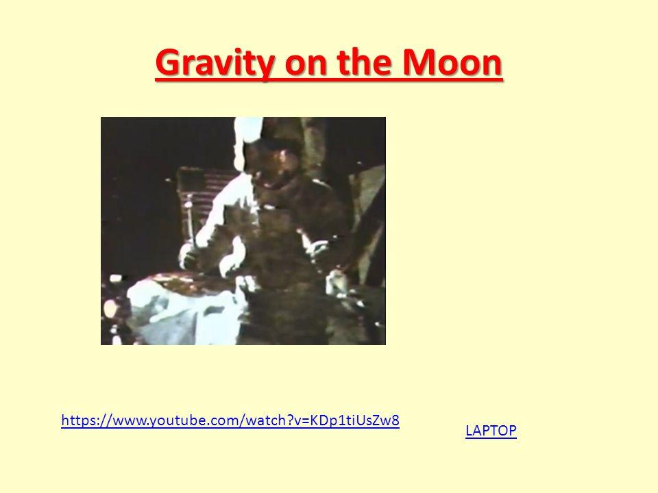 Gravity on the Moon https://www.youtube.com/watch v=KDp1tiUsZw8 LAPTOP