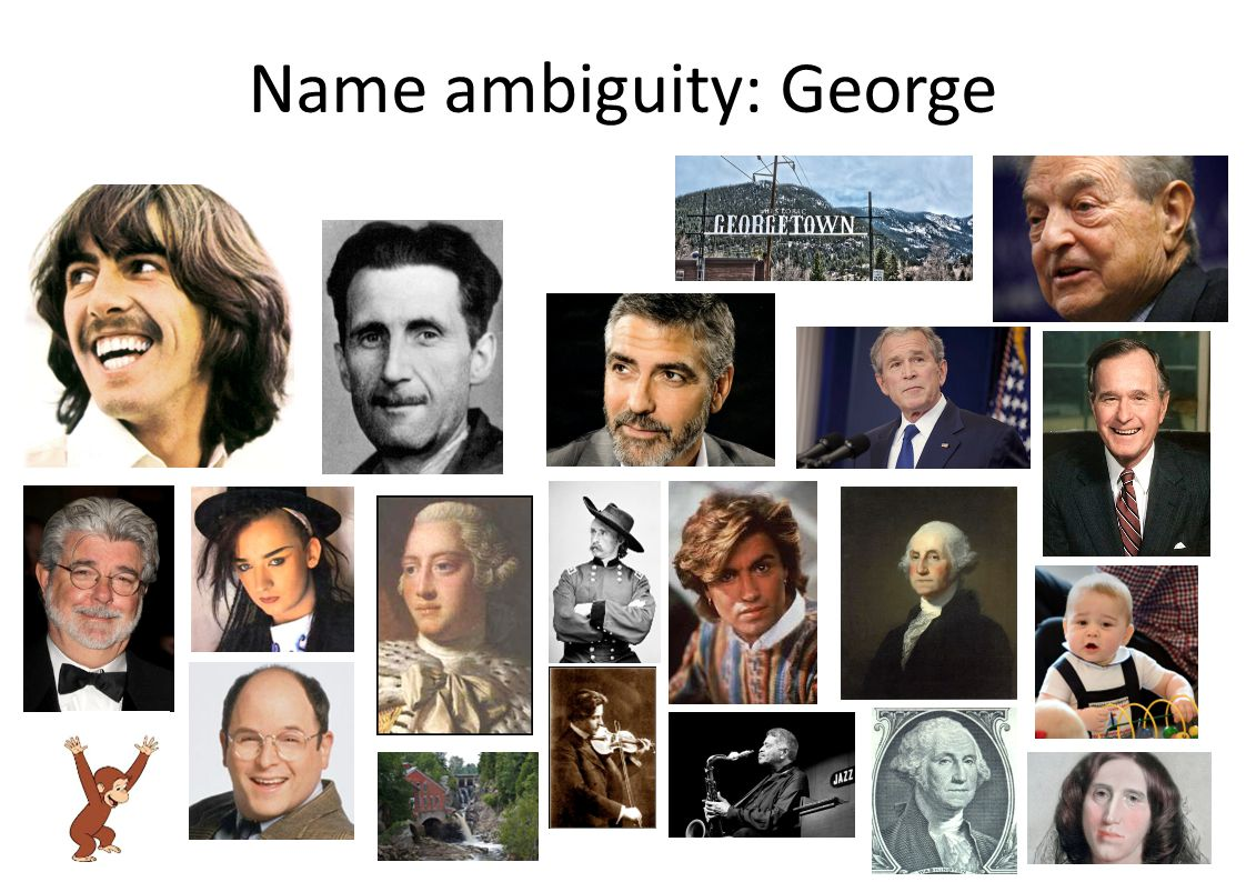 Name ambiguity: George