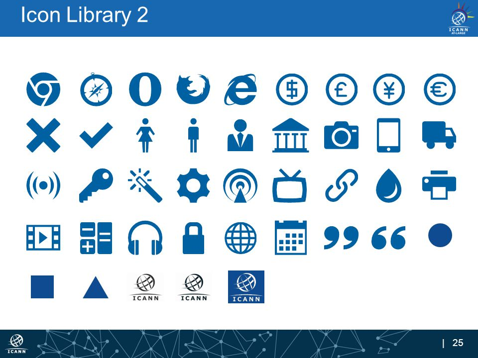 | 25 Icon Library 2