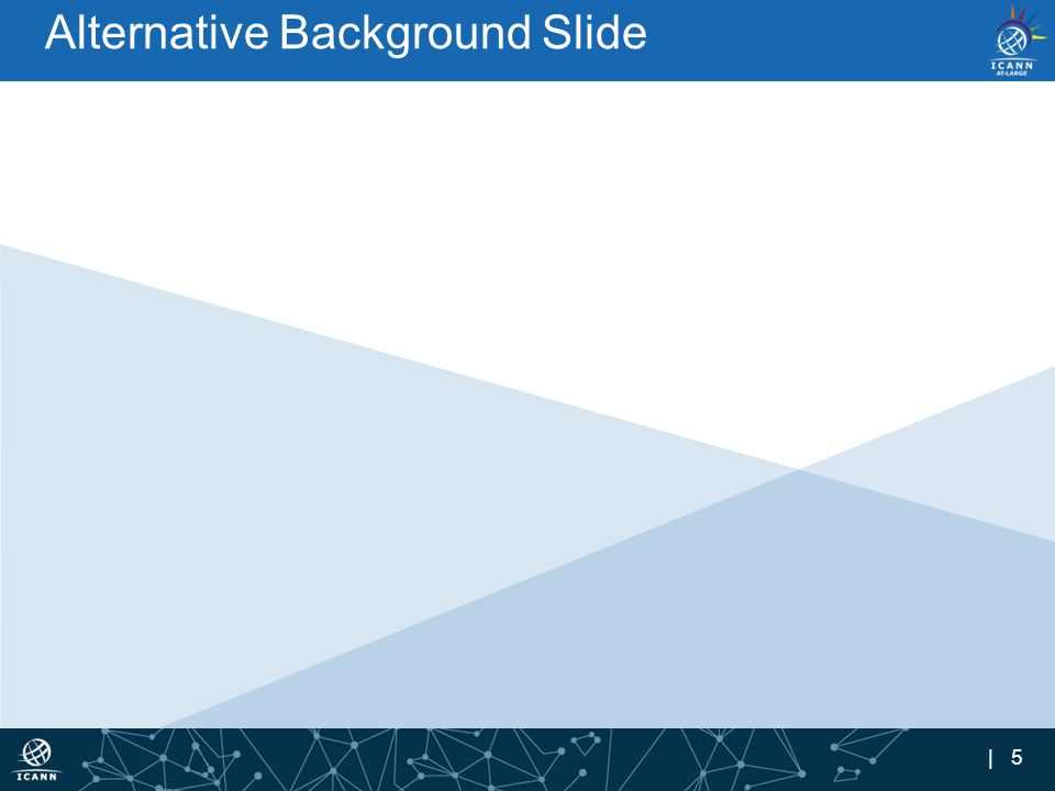 | 5 Alternative Background Slide
