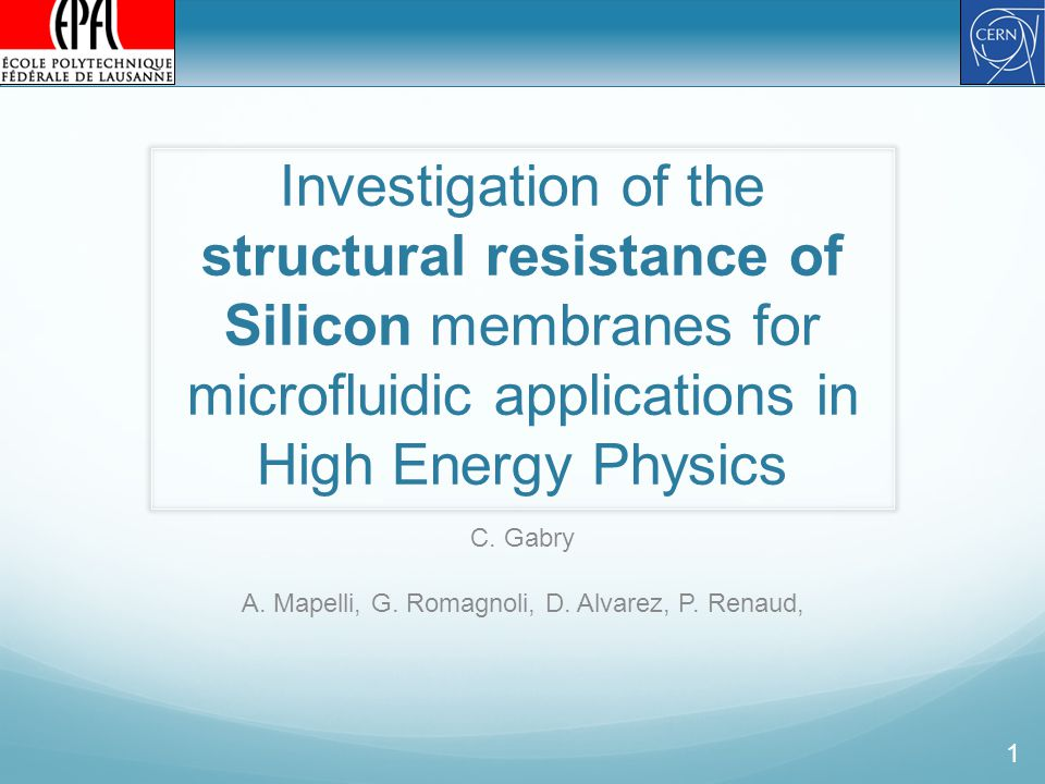 Investigation of the structural resistance of Silicon membranes for microfluidic applications in High Energy Physics C.