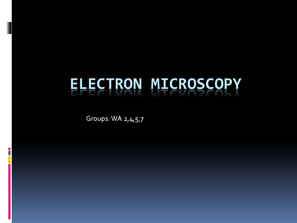 History  The electron microscope was first invented by a team of German engineers headed by Max Knoll and physicist Ernst Ruska in 1932  They used Louis de Broglie's theory of electron waves developed in 1924  If you increase a particle's momentum, its wavelength will decrease, allowing for higher resolution.