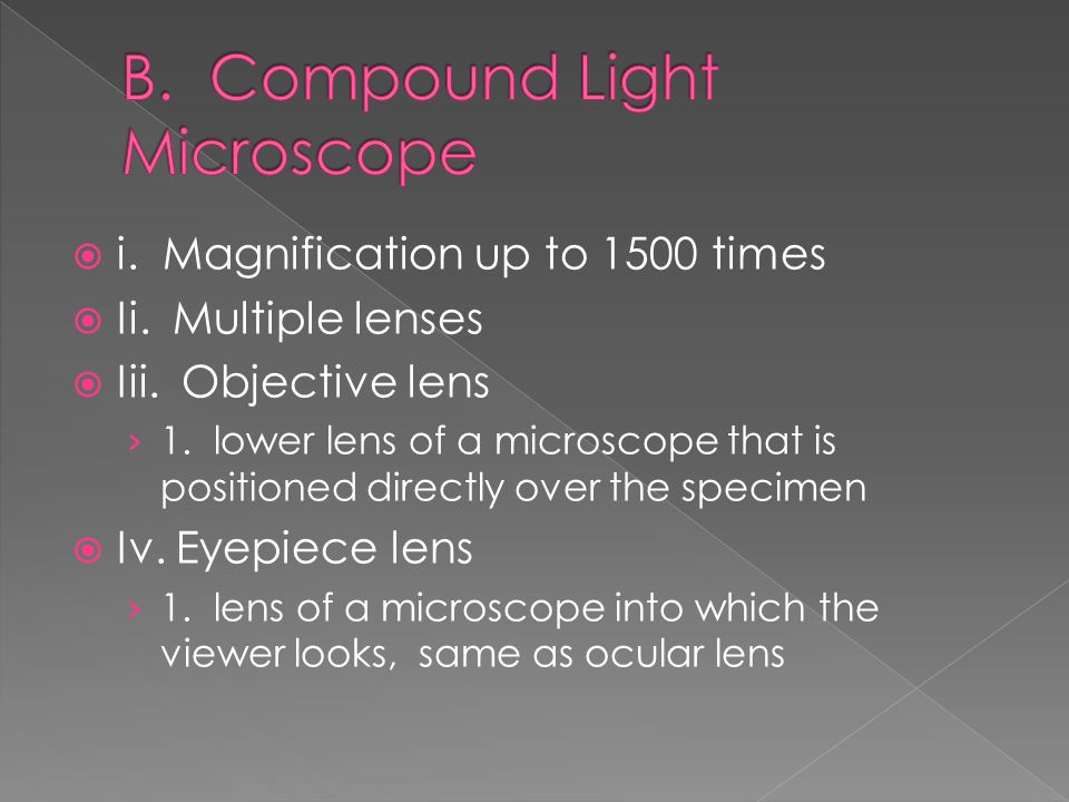 A.An instrument that links microscope to a spectrophotometer  B.