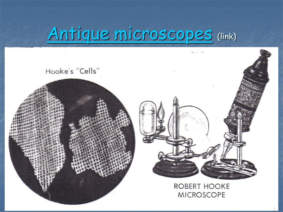 Antique microscopesAntique microscopes (link) Antique microscopes