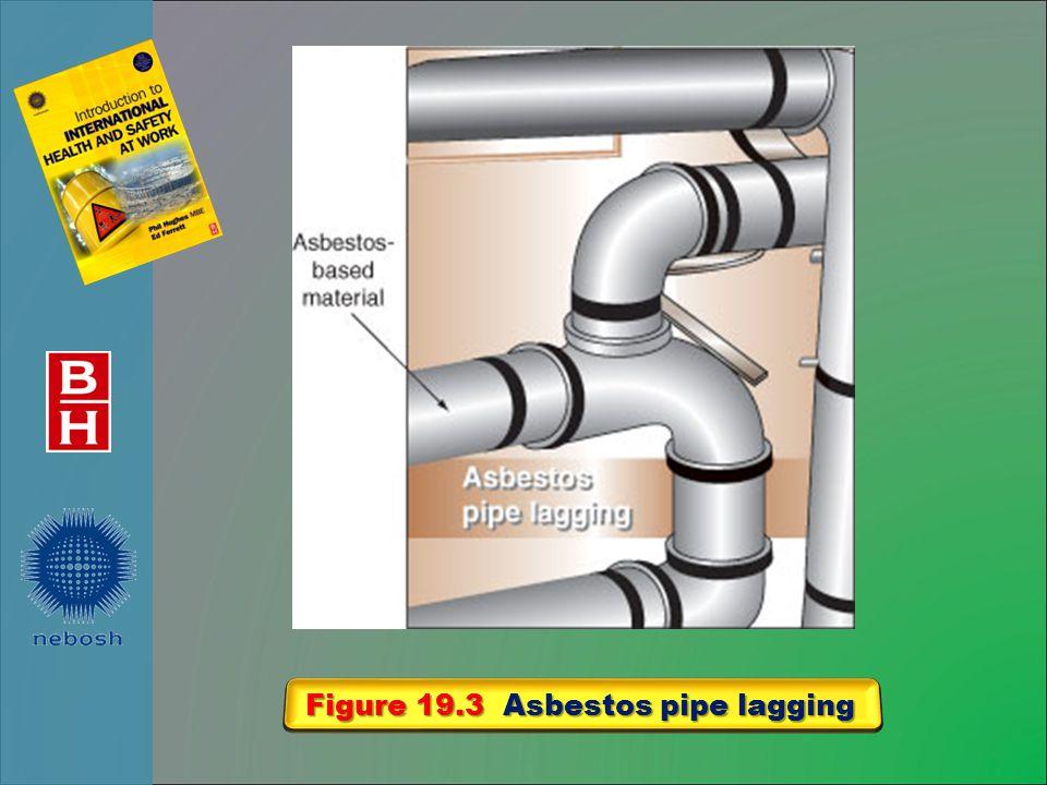 Figure 19.3 Asbestos pipe lagging