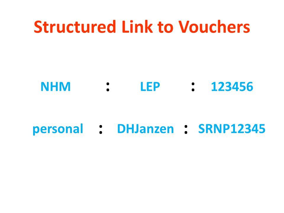 Structured Link to Vouchers NHMLEP123456 :: personalDHJanzenSRNP12345 ::