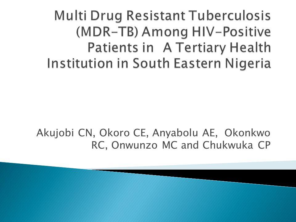 Akujobi CN, Okoro CE, Anyabolu AE, Okonkwo RC, Onwunzo MC and Chukwuka CP