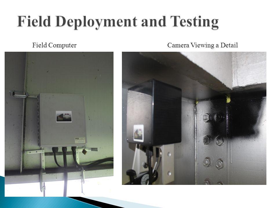 Camera Viewing a DetailField Computer