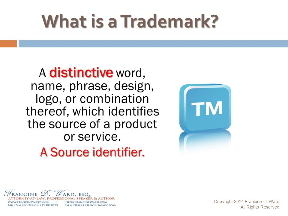 What is a Trademark.