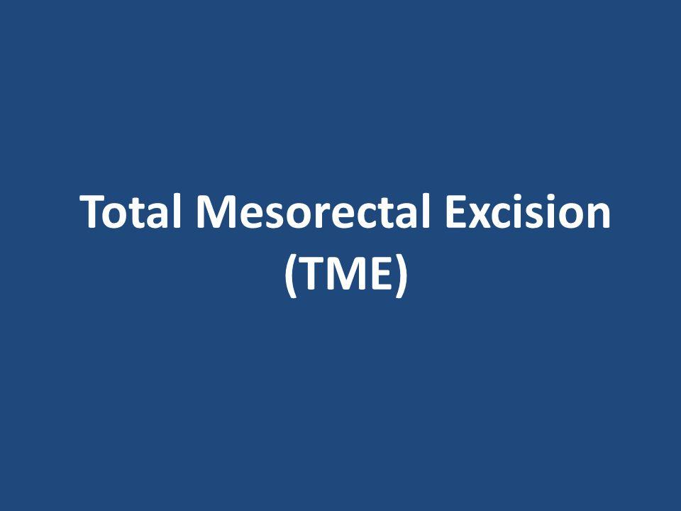 Total Mesorectal Excision (TME)