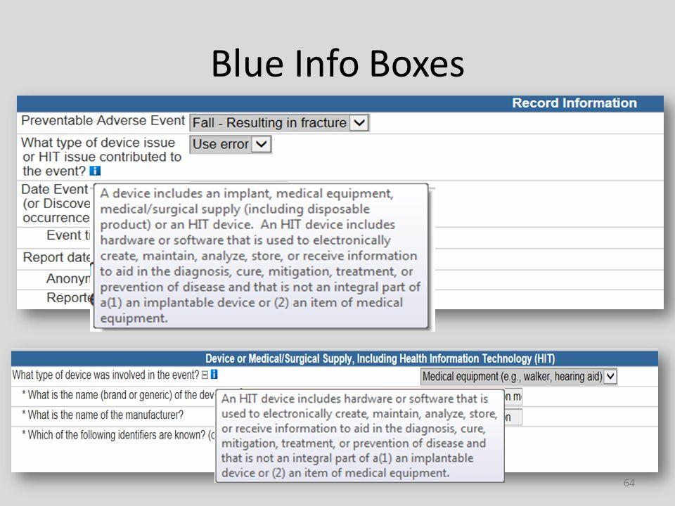 Blue Info Boxes 64