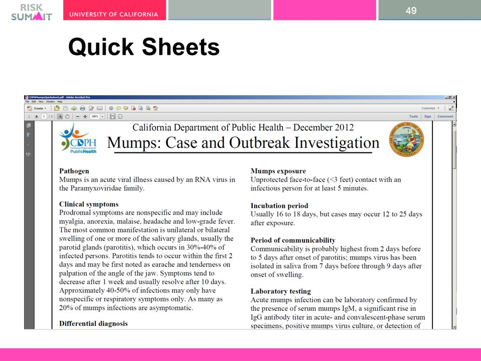 49 Quick Sheets