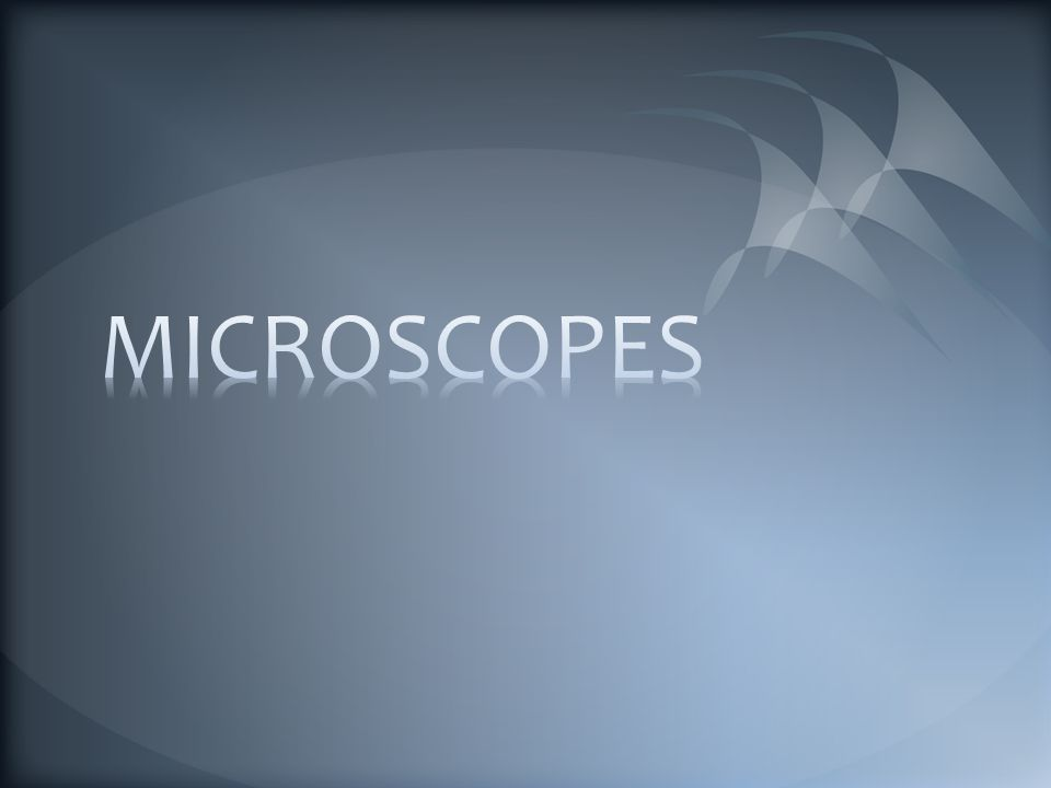 A microscope is an optical instrument that allows you to see objects magnified.