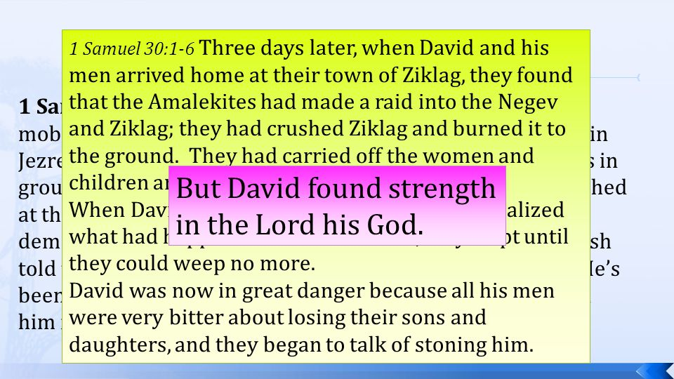 1 Samuel 29:1-3 (NLT) The entire Philistine army now mobilized at Aphek, and the Israelites camped at the spring in Jezreel.