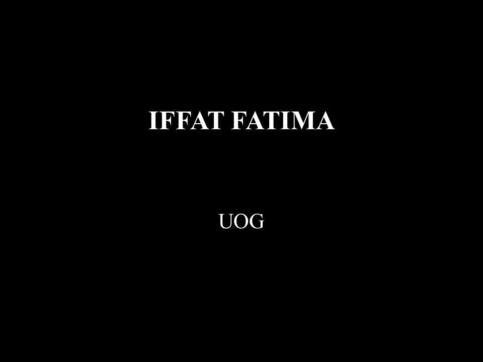 IFFAT FATIMA UOG