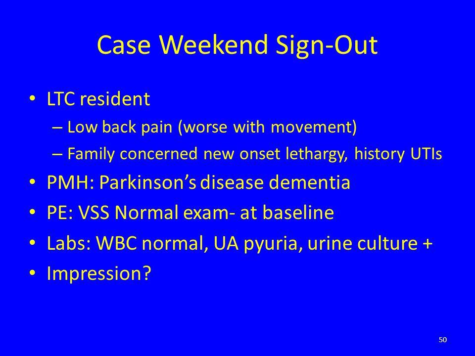 nursing case study uti