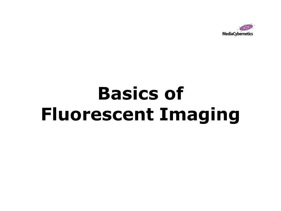 Basics of Fluorescent Imaging
