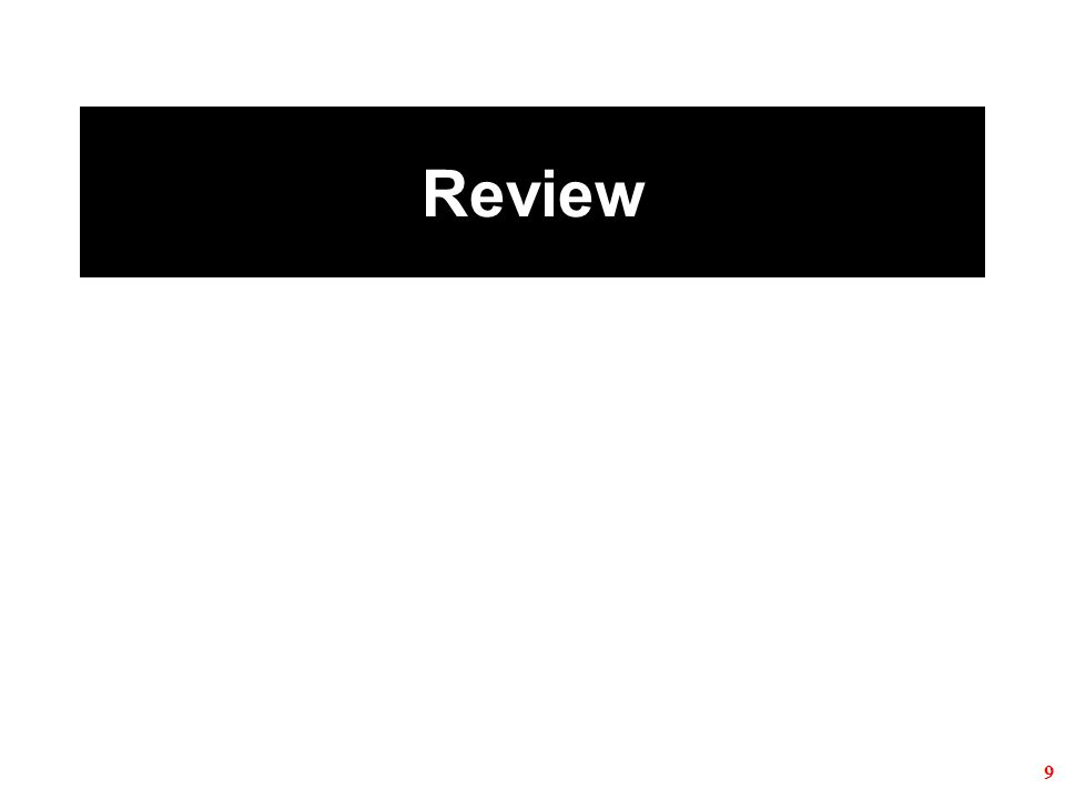 Review 9