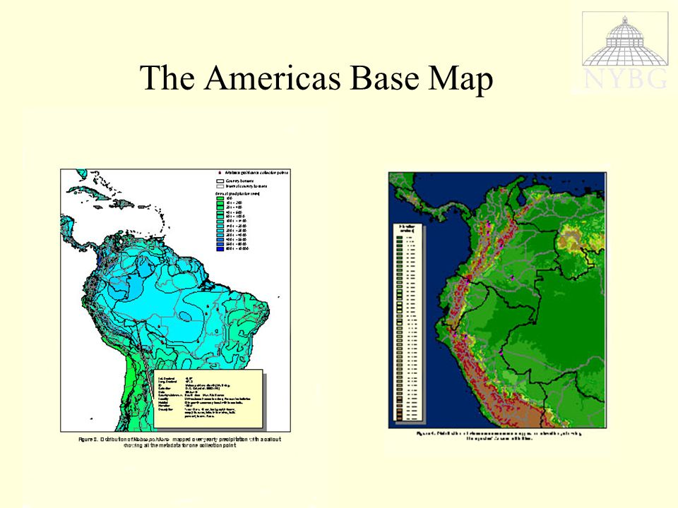 The Americas Base Map