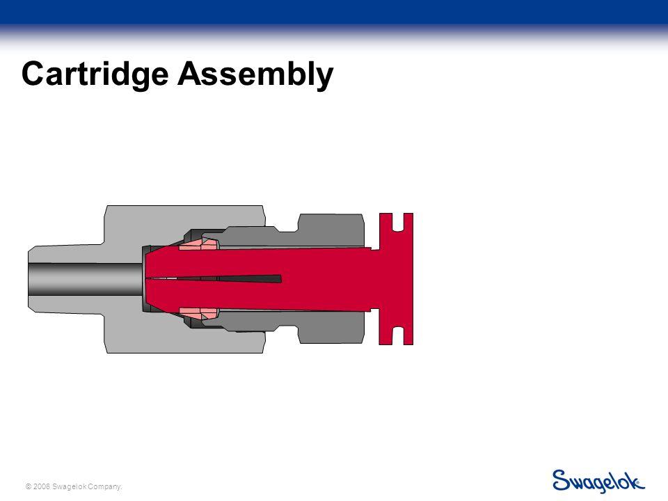 © 2006 Swagelok Company. Cartridge Assembly