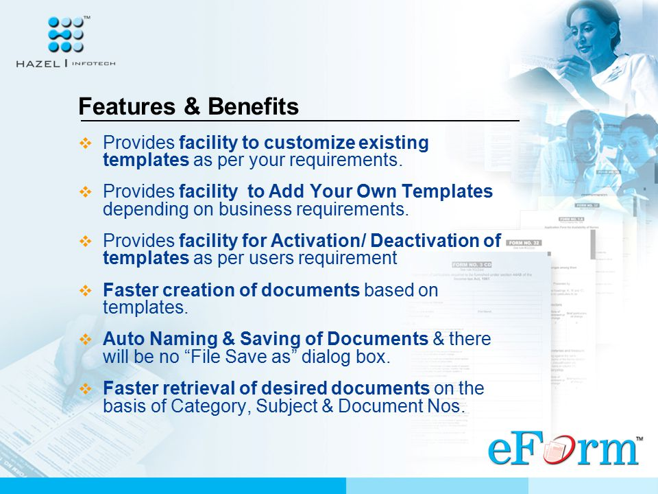 Features & Benefits  Provides a Vast collection of Microsoft Office templates related to Business, Personal Letters and Statutory Forms related to In