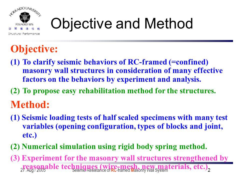空間構造性能 Structural Performance 27.