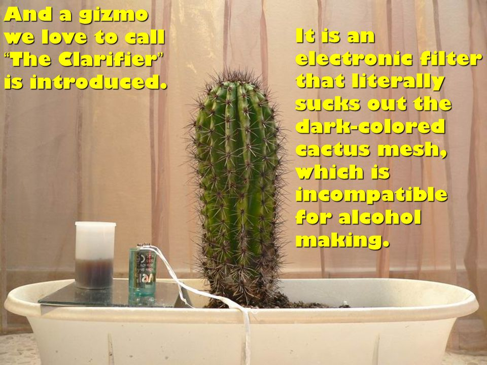And a gizmo we love to call The Clarifier is introduced.