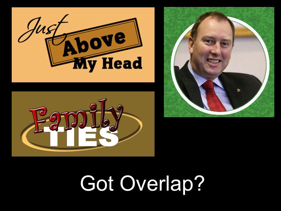 Got Overlap?