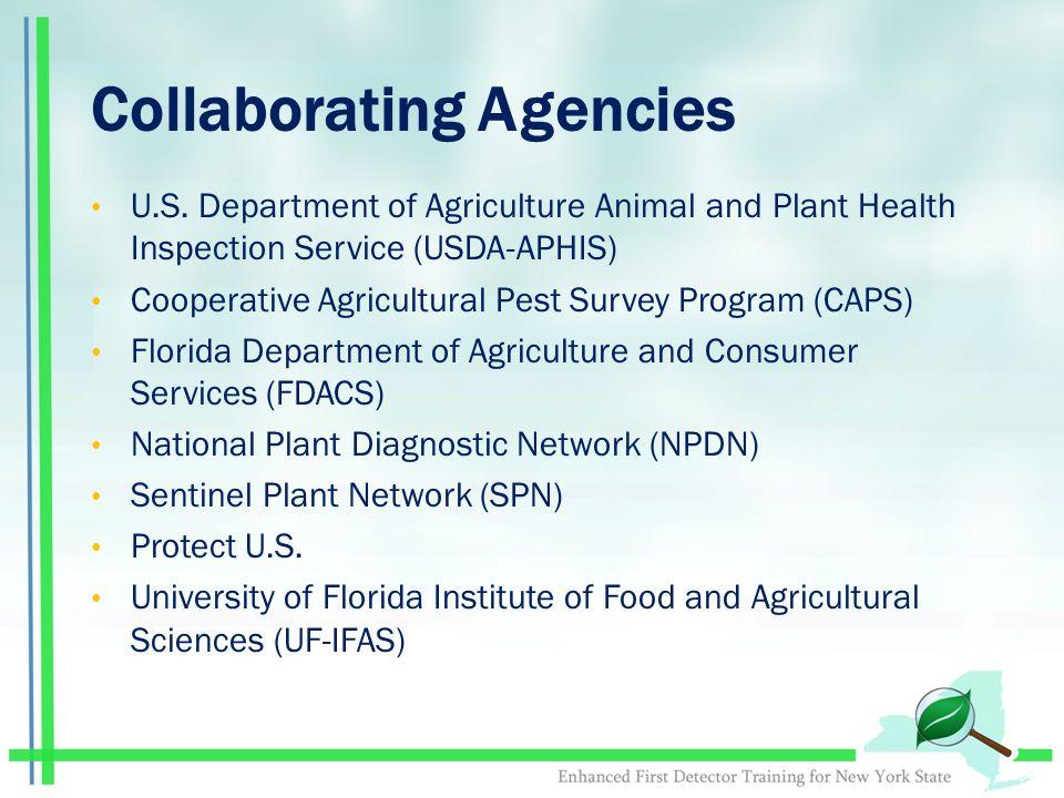 Collaborating Agencies U.S.