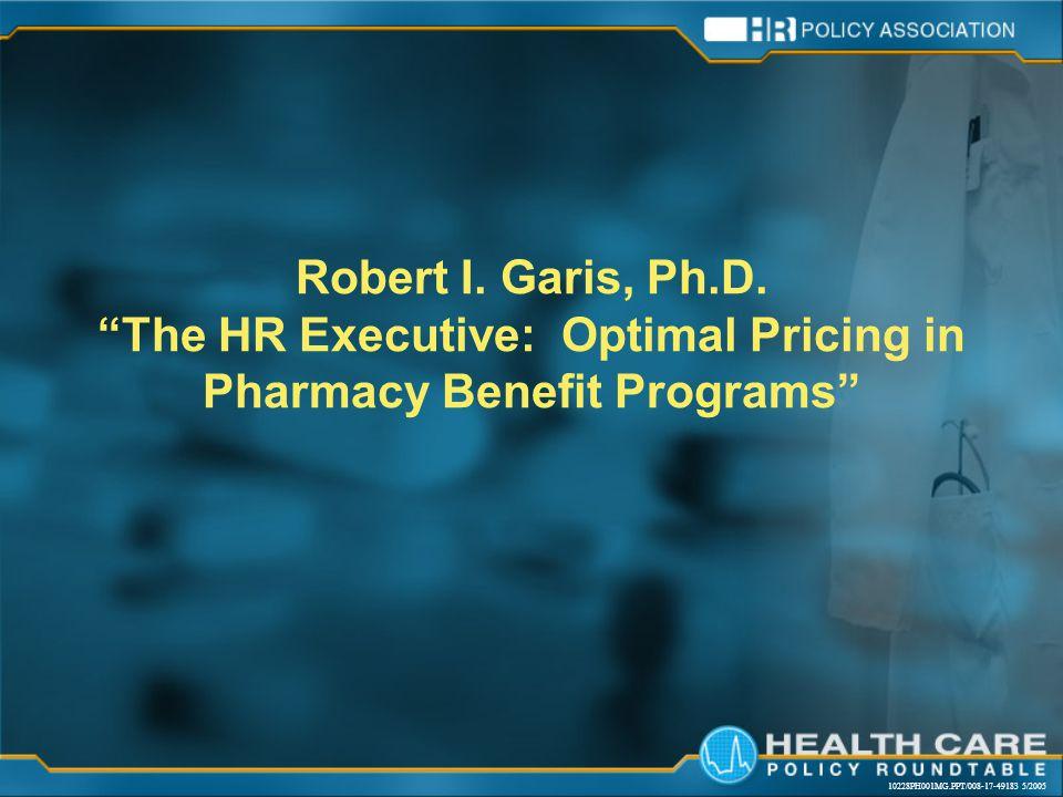 10228PH001MG.PPT/008-17-49183 5/2005 Robert I. Garis, Ph.D.