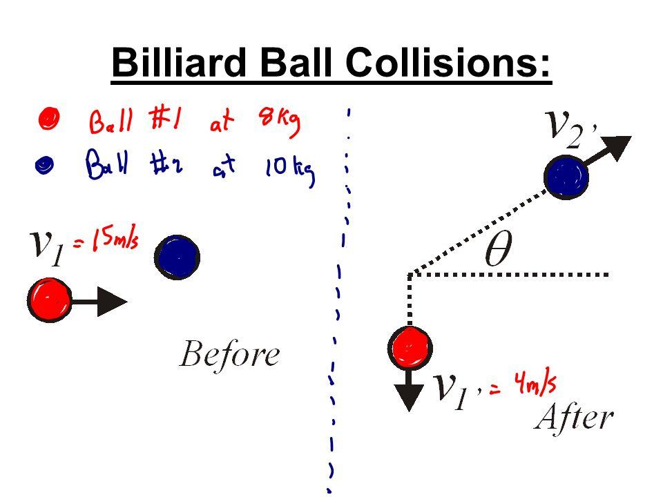 Billiard Ball Collisions: