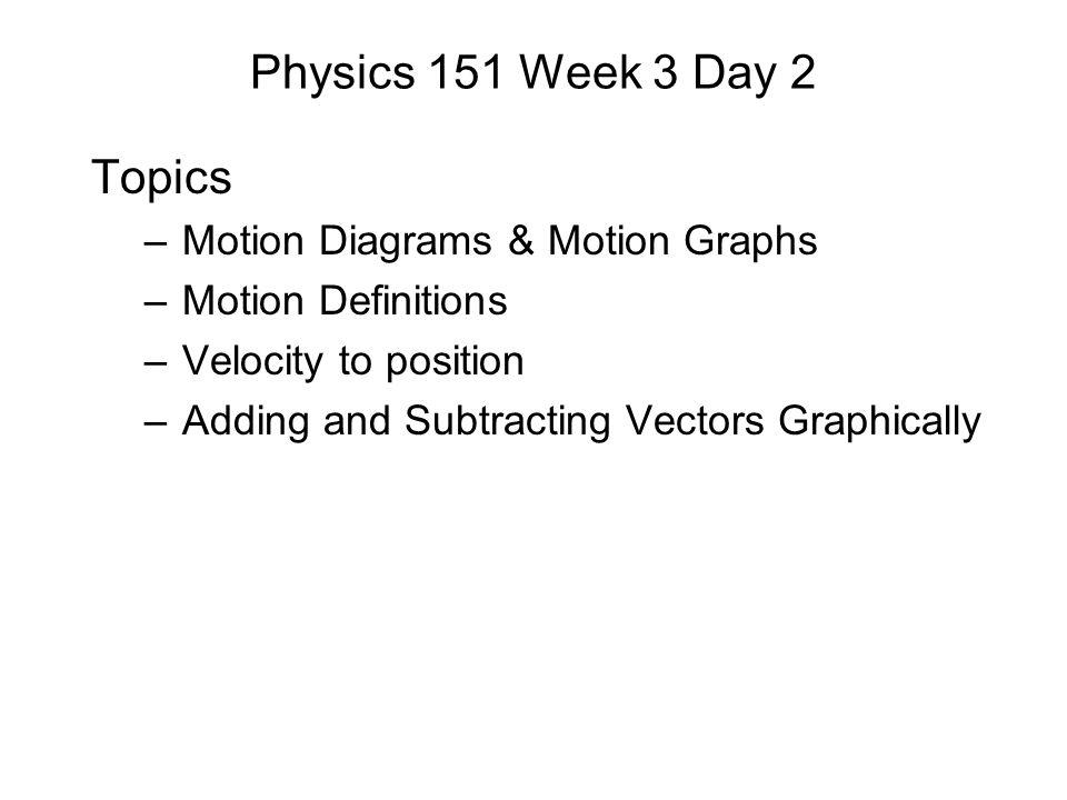 Checking Understanding Slide 3-13 Which of the vectors below best represents the vector sum P + Q .