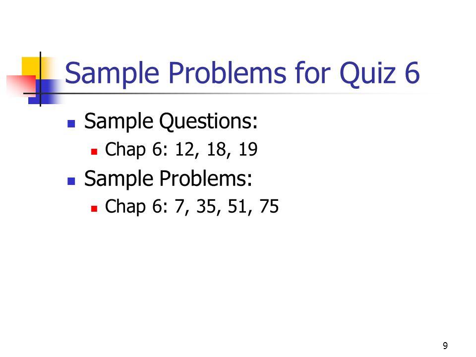 8 Example Problem: Ms. Daredevil.