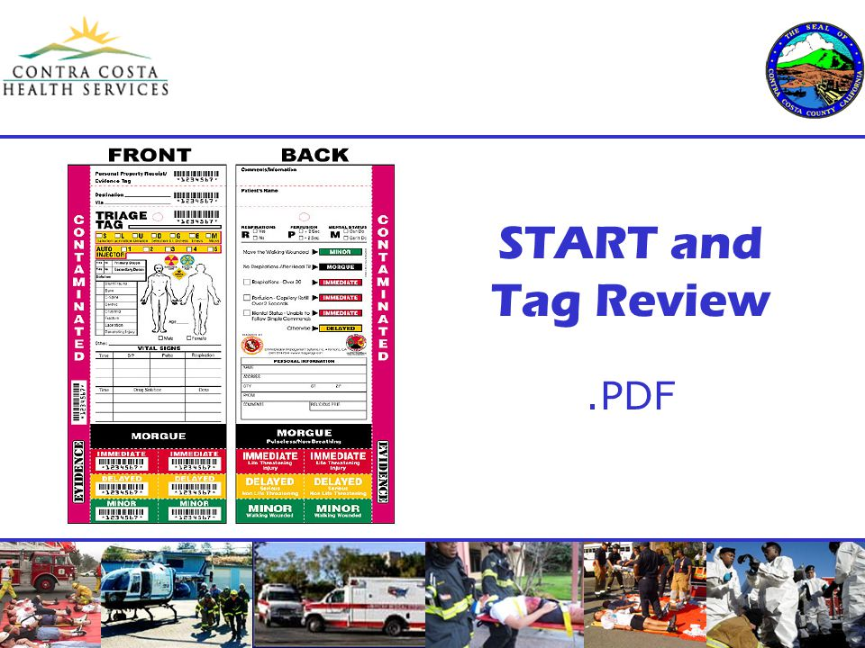 START and Tag Review.PDF