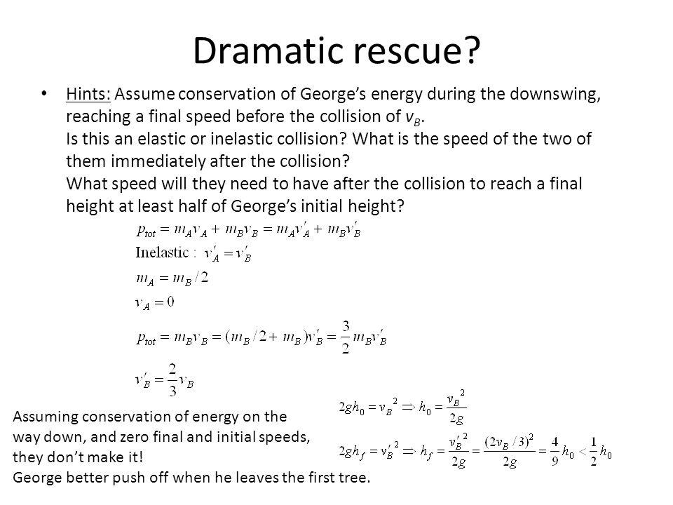 Dramatic rescue.