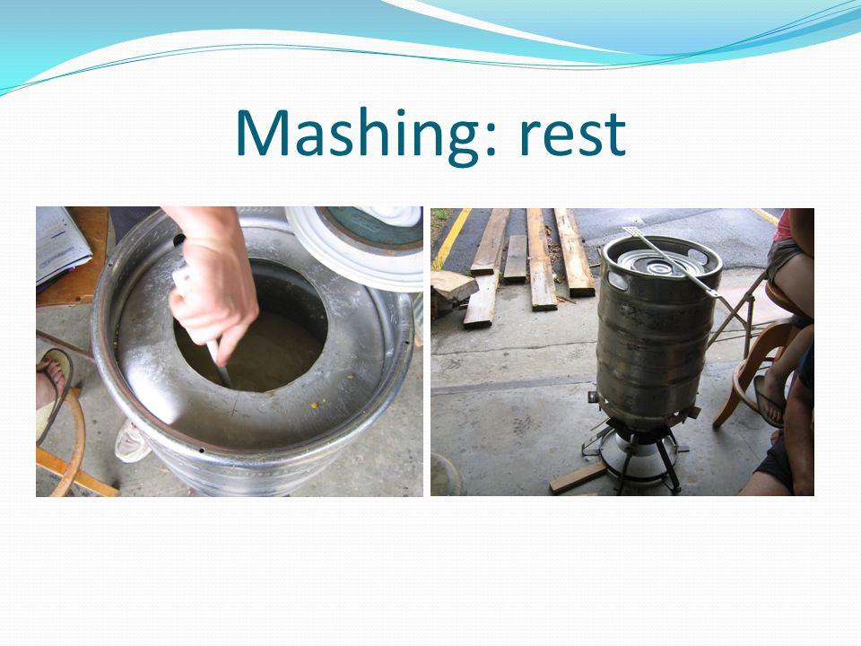 Mashing: rest