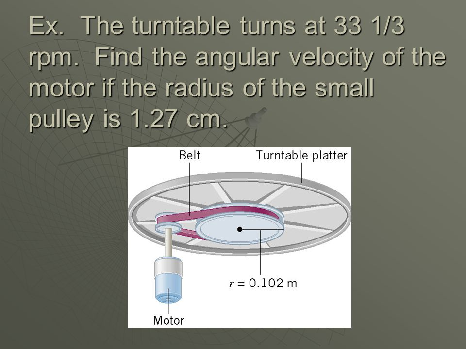 Ex. Find the net force and torque for each situation shown below. r =.25 m 5.0 N