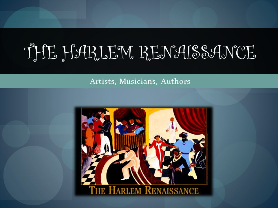 Introduction-American Culture/Harlem Renaissance In 1904, Harlem, centered around 135 th Street and 5 th Avenue, became a Mecca for middle-class African- Americans moving north from Hell's Kitchen, Clinton, and other neighborhoods in New York City.